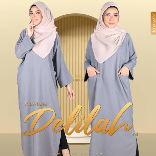 PRINCESS DELILAH V4 - LIGHT GREY - KHAIZAN