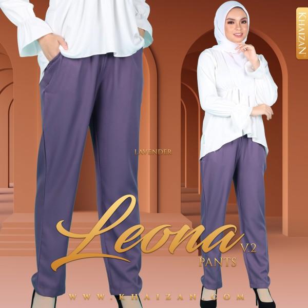 LEONA PANTS V2 - LAVENDER - KHAIZAN