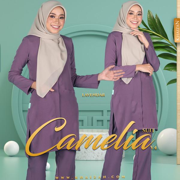 CAMELIA SUIT V4 - LAVENDER - KHAIZAN