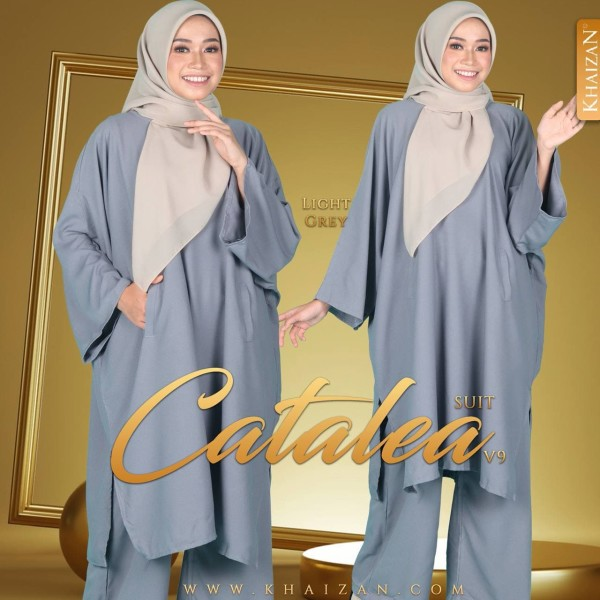 CATALEA SUIT V9 - LIGHT GREY - KHAIZAN