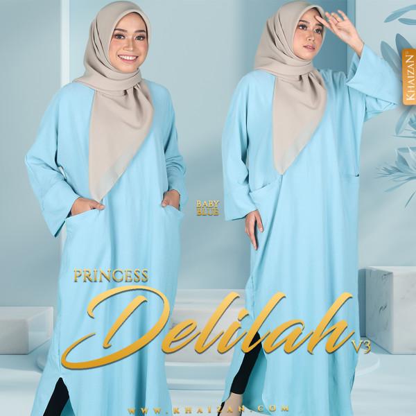 PRINCESS DELILAH V3 - BABY BLUE - KHAIZAN