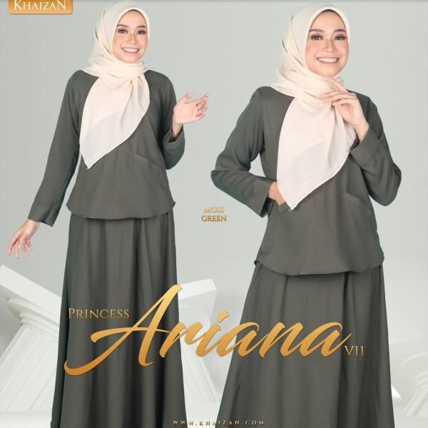 PRINCESS ARIANA V11 - MOSS GREEN - KHAIZAN