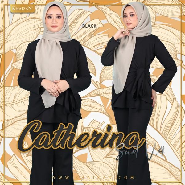 CATHERINA SUIT V4 - BLACK - KHAIZAN