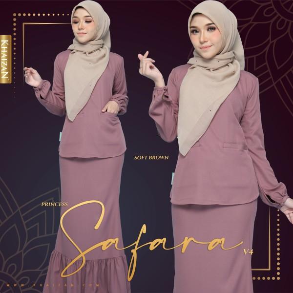 PRINCESS SAFARA V4 - SOFT BROWN - KHAIZAN