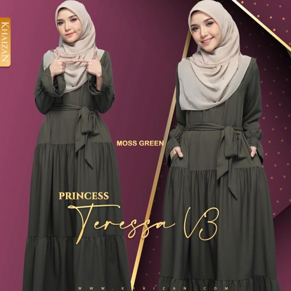 PRINCESS TERESSA V3 - MOSS GREEN - KHAIZAN