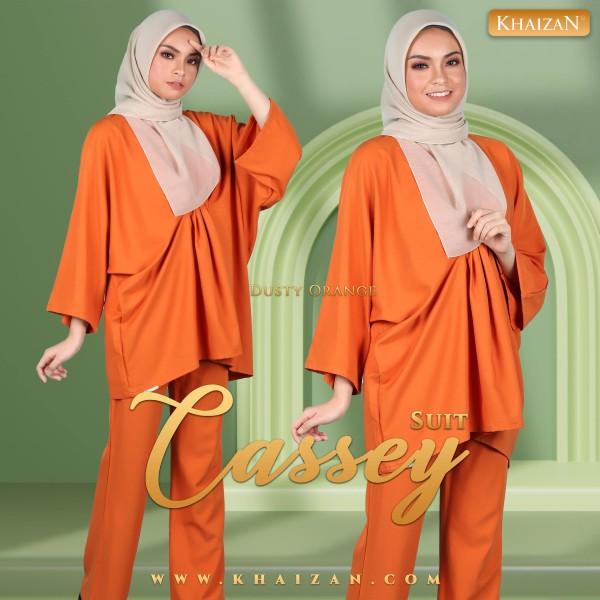CASSEY SUIT - DUSTY ORANGE - KHAIZAN