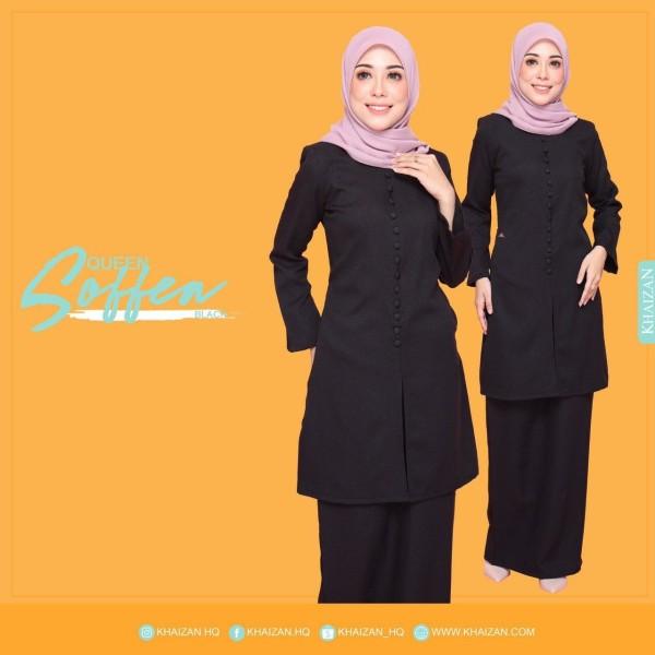 QUEEN SOFFEA - BLACK - KHAIZAN