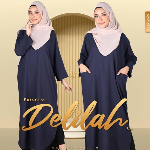PRINCESS DELILAH V4 - NAVY BLUE - KHAIZAN