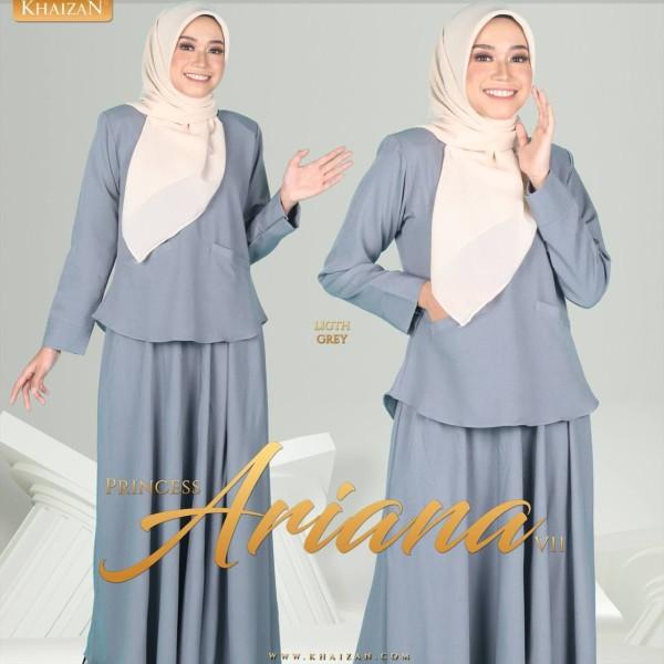 PRINCESS ARIANA V11 - LIGHT GREY - KHAIZAN