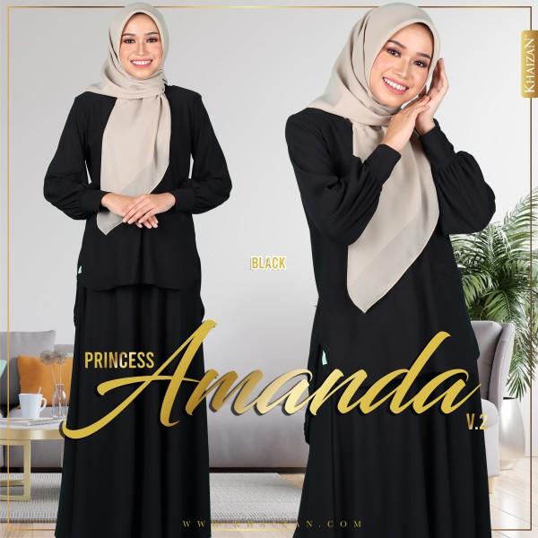 PRINCESS AMANDA V2 - BLACK - KHAIZAN