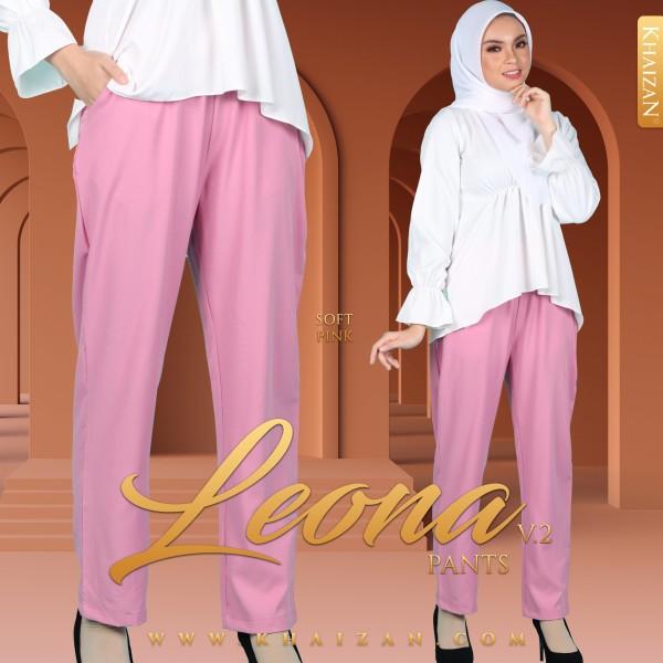 LEONA PANTS V2 - SOFT PINK - KHAIZAN