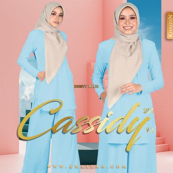 CASSIDY SUIT V2 - DUSTY BLUE - KHAIZAN