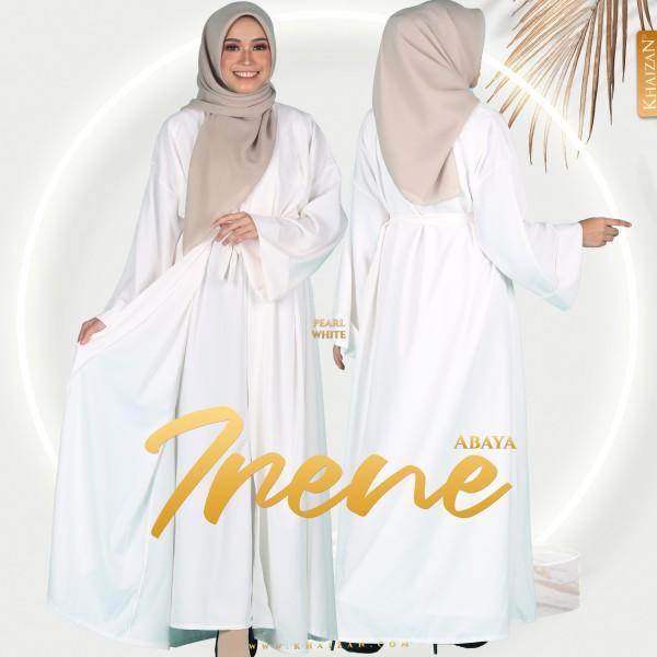 ABAYA IRENE - PEARL WHITE - KHAIZAN