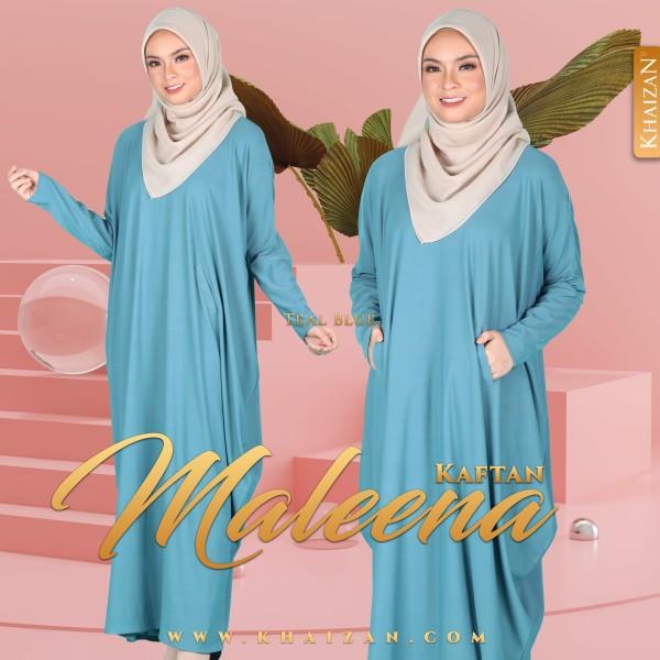 MALEENA KAFTAN - TEAL BLUE - KHAIZAN