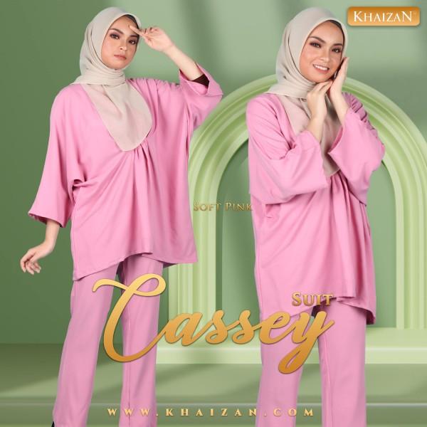 CASSEY SUIT - SOFT PINK - KHAIZAN