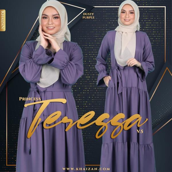 PRINCESS TERESSA V5 - DUSTY PURPLE - KHAIZAN