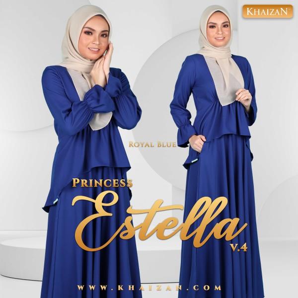 PRINCESS ESTELLA V4 - ROYAL BLUE - KHAIZAN