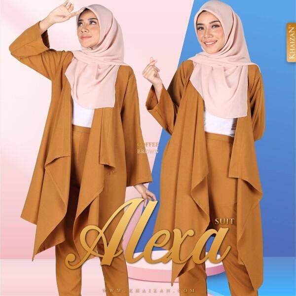 ALEXA SUIT - COFFEE BROWN - KHAIZAN