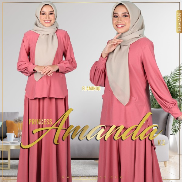 PRINCESS AMANDA V2 - FLAMINGO - KHAIZAN