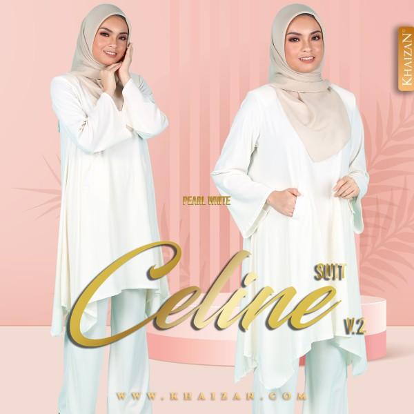 CELINE SUIT V2 - PEARL WHITE - KHAIZAN