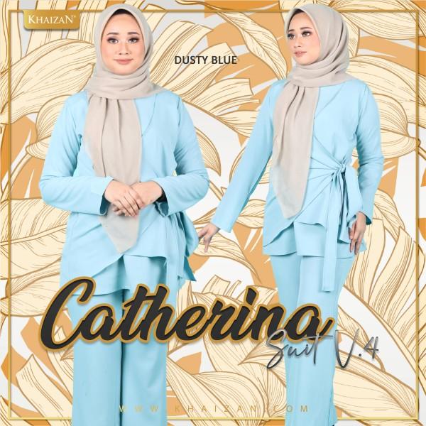 CATHERINA SUIT V4 - DUSTY BLUE - KHAIZAN