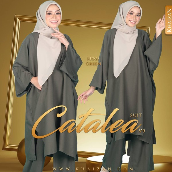 CATALEA SUIT V9 - MOSS GREEN - KHAIZAN