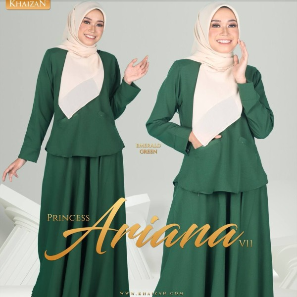 PRINCESS ARIANA V11 - EMERALD GREEN - KHAIZAN