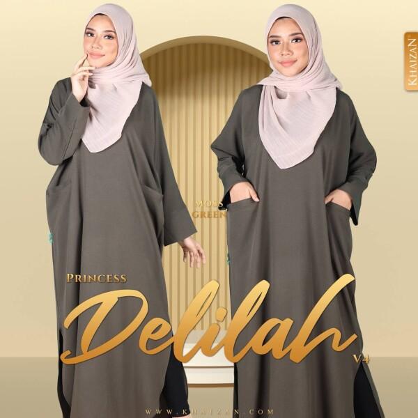 PRINCESS DELILAH V4 - MOSS GREEN - KHAIZAN