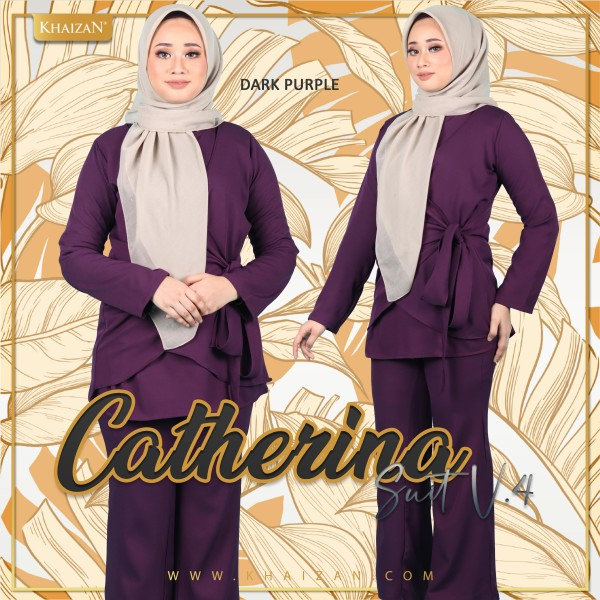 CATHERINA SUIT V4 - DUSTY PURPLE - KHAIZAN