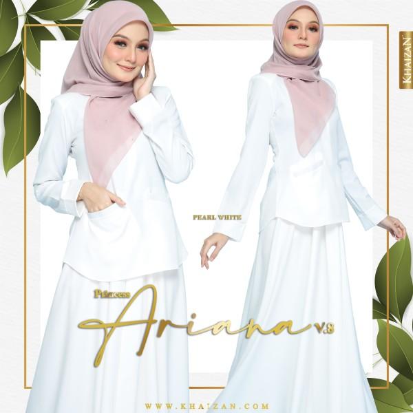 PRINCESS ARIANA V8 - PEARL WHITE - KHAIZAN