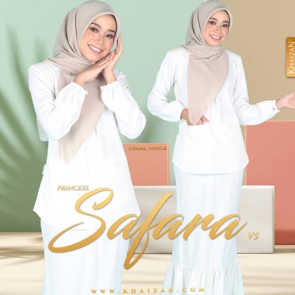 PRINCESS SAFARA V5 - PEARL WHITE - KHAIZAN