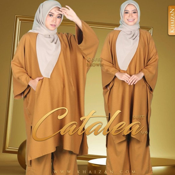 CATALEA SUIT V9 - COFFEE BROWN - KHAIZAN