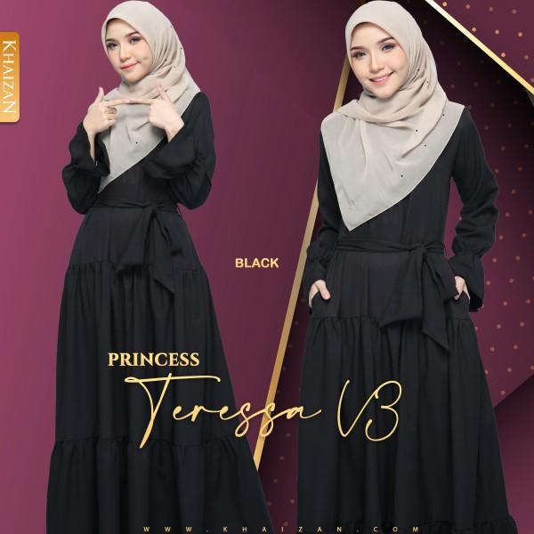 PRINCESS TERESSA V3 - BLACK - KHAIZAN