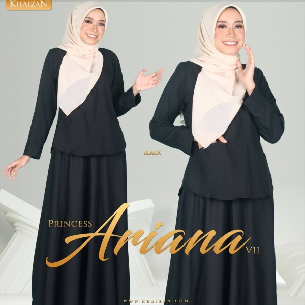 PRINCESS ARIANA V11 - BLACK - KHAIZAN