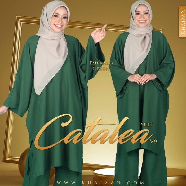 CATALEA SUIT V9 - EMERALD GREEN - KHAIZAN
