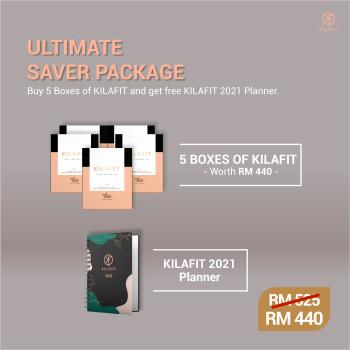KILAFIT - 1 MONTH SUPER STARTER PACKAGE (FREE Delivery) - KILAFIT