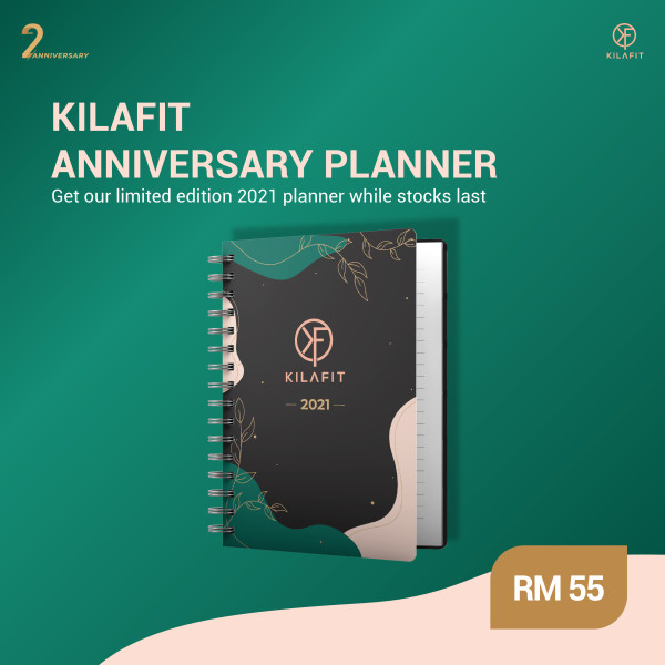 KILAFIT ANNIVERSARY PLANNER (With Delivery) - KILAFIT