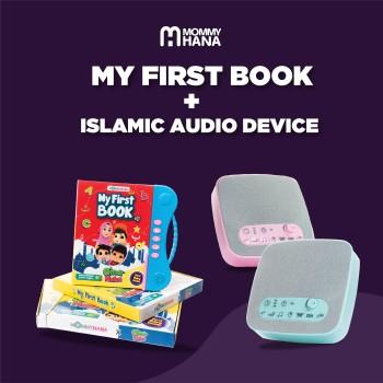 Combo My First Book + Islamic Audio Device
