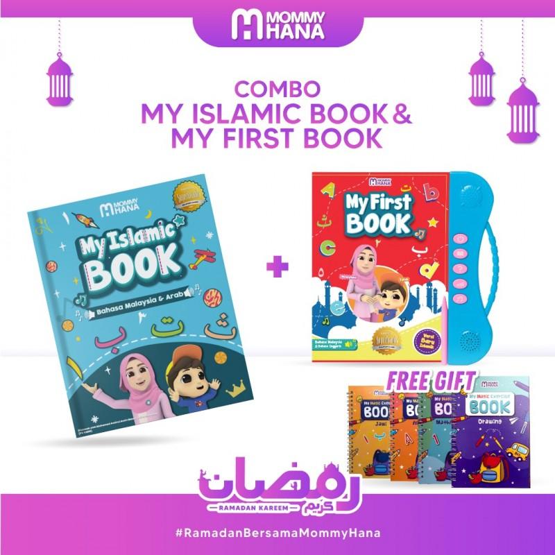 Combo My Islamic Book + My First Book