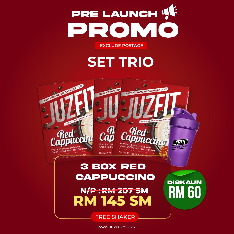 JUZFIT RED CAPPUCCINO (TRIO)