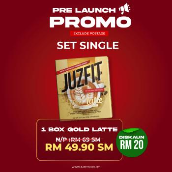 JUZFIT GOLD LATTE