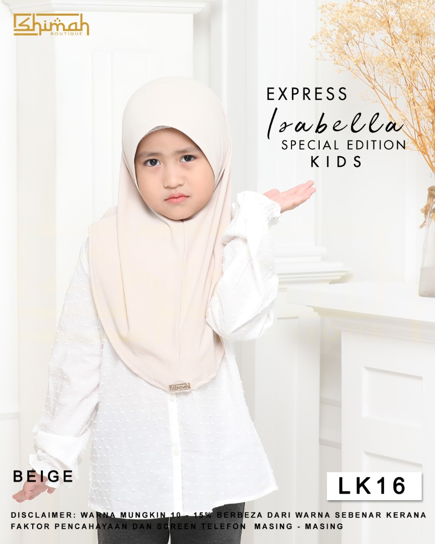 Isabella Special Edition Kids - LK16