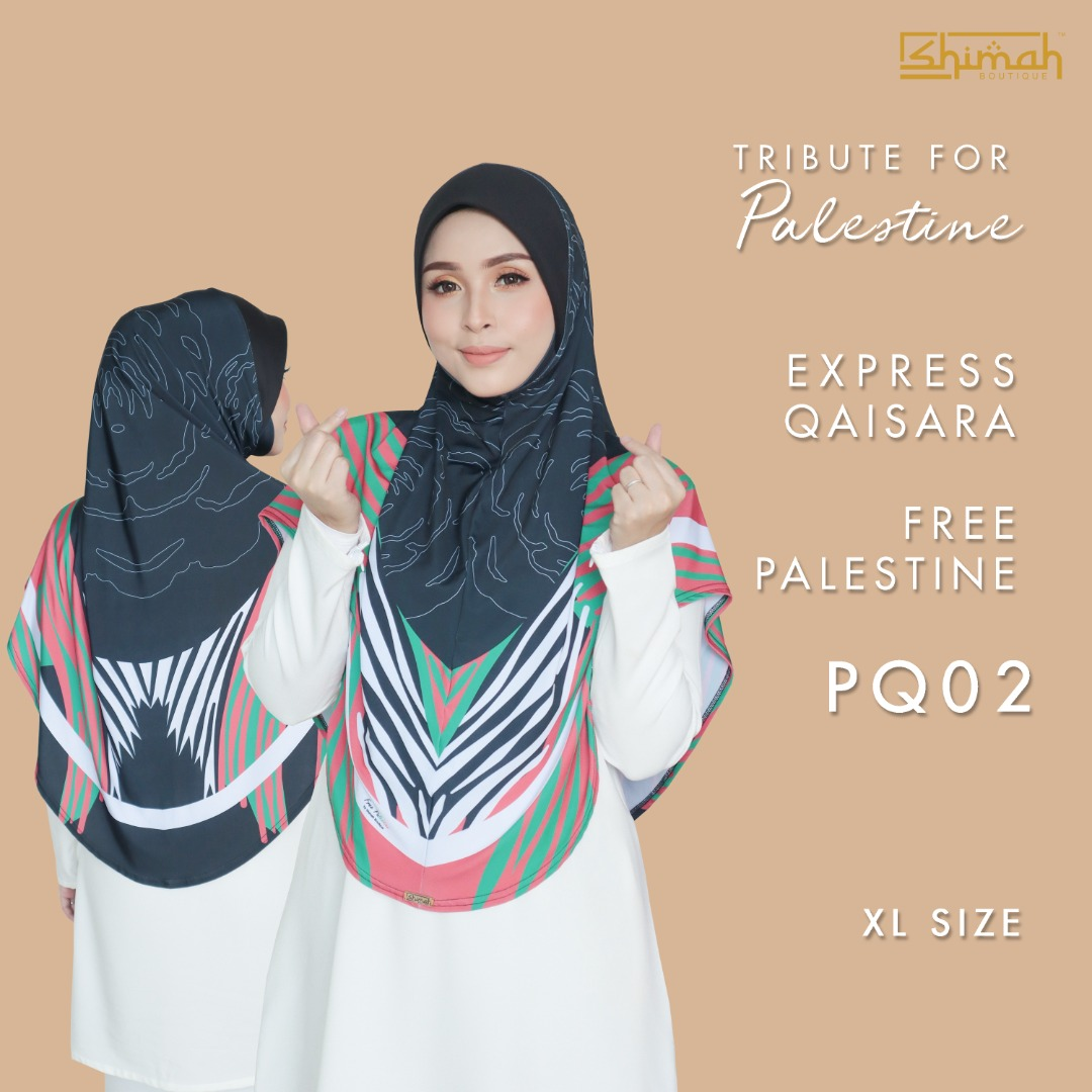 Express Qaisara Free Palestine (XL Berdagu) - PQ02