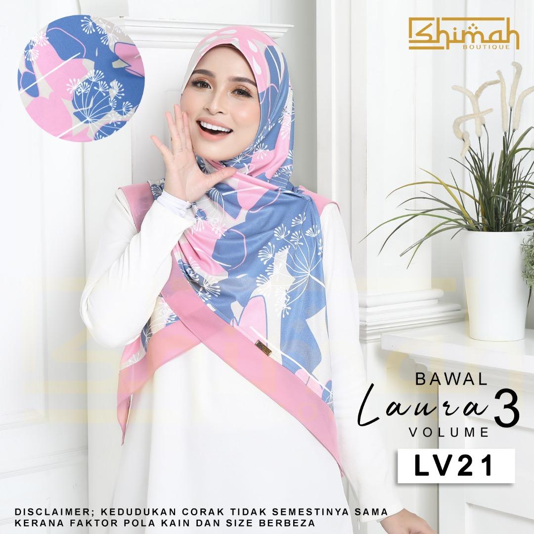 Bawal Laura Vol. 3 (LV21) Bidang 50