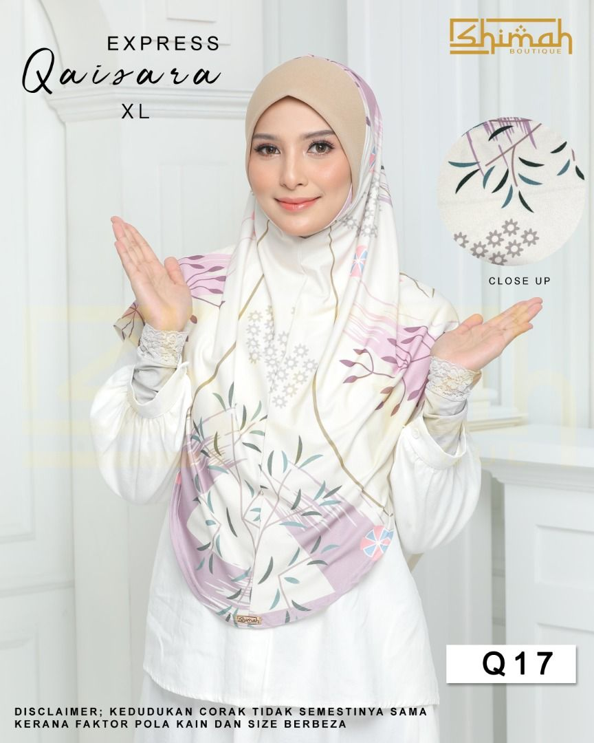Express Qaisara - Q17 (Size XL)