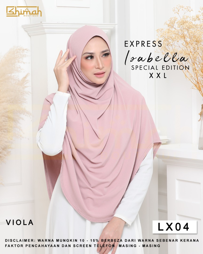 Isabella Special Edition Berdagu (Size XXL) - LX04