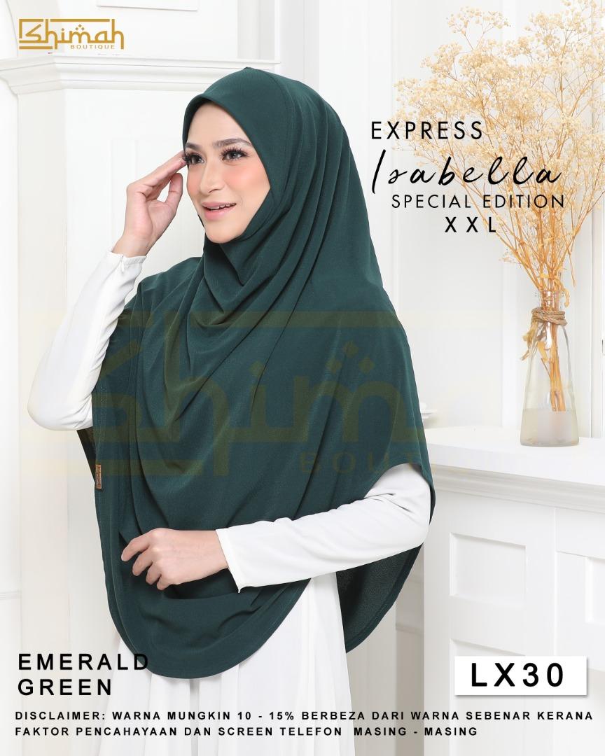Isabella Special Edition Berdagu (Size XXL) - LX30