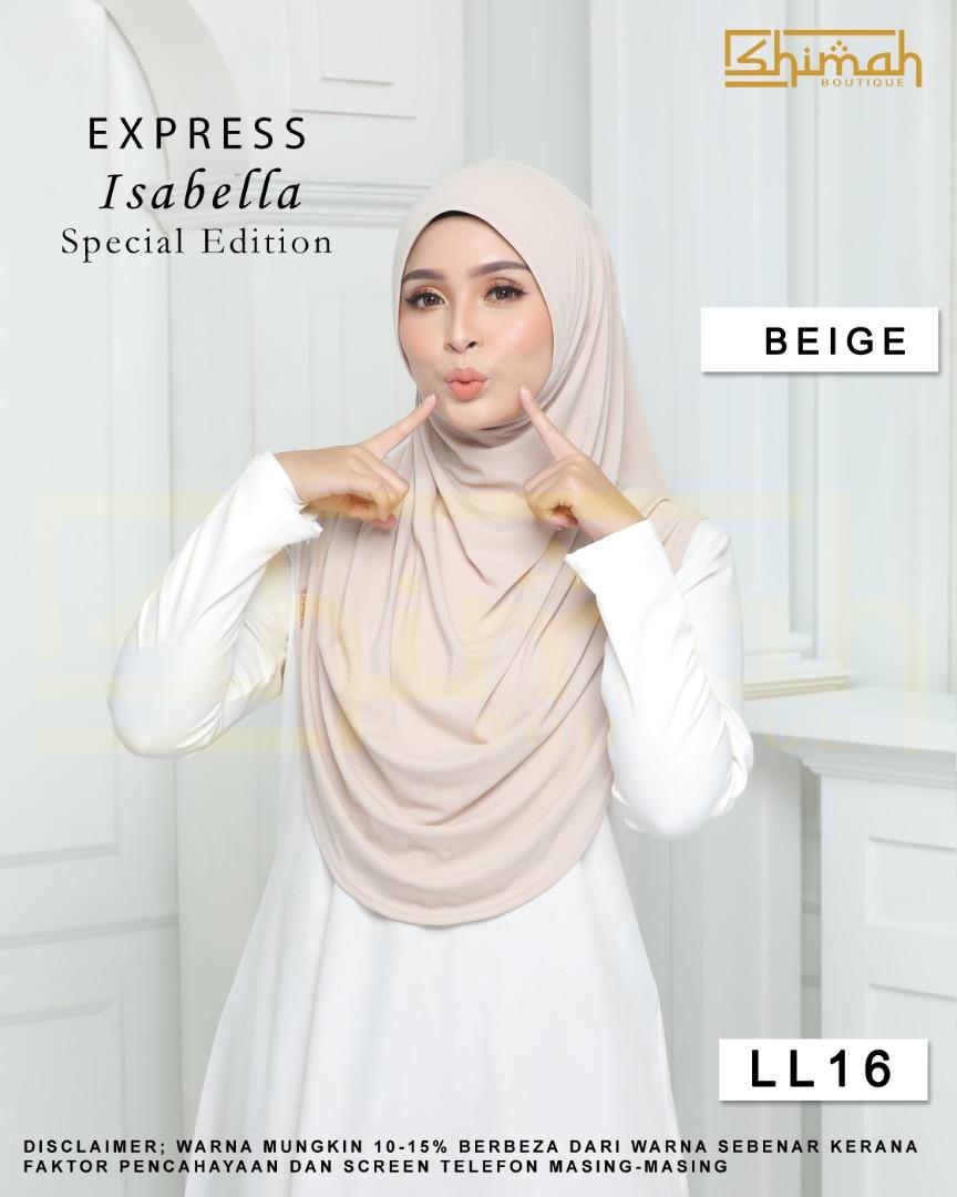 Isabella Special Edition Berdagu (Size XL) - LL16