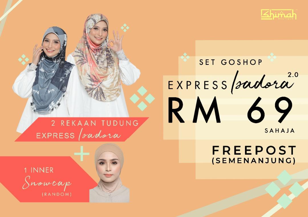 Set Express Isadora GoShop 2.0