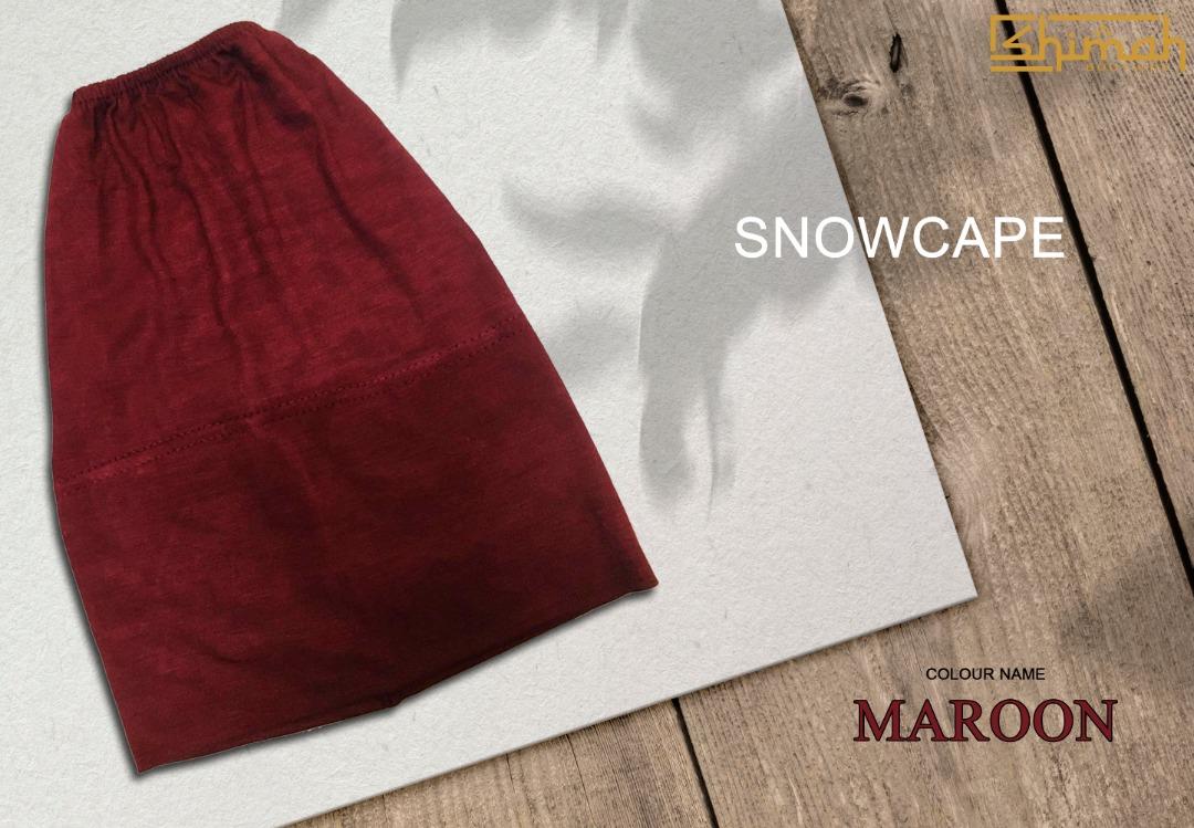 Inner Snowcape - Maroon
